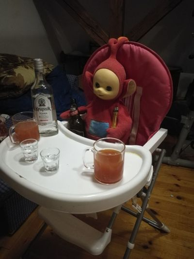 Melo Teletubbies Vodka🍹 Giławy Creepy