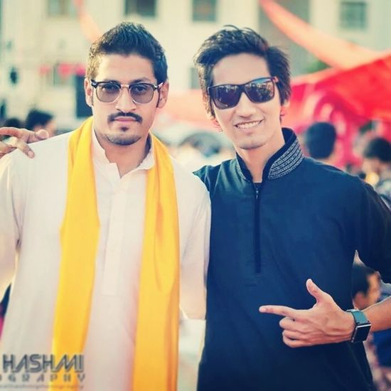 Basant Valentine Basantine Festival university friends throwback Iqra event yellow red theme blackoutfit Karachi Pakistan