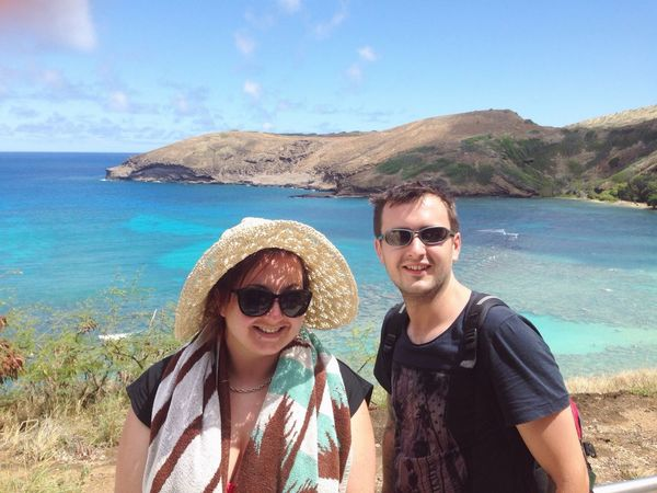 The Tourist Hawaii Sea Holiday Honeymoon Hanauma Bay Sun Hat