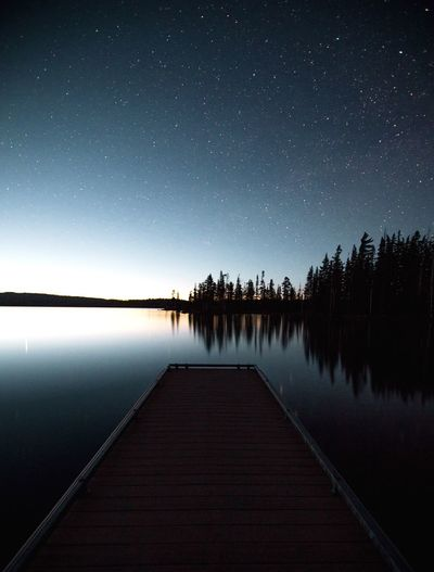 Daybreak Reflection Water Star - Space Beauty In Nature Nature Lake Sky Astronomy Scenics Night Tranquil Scene Clear Sky Star Field Space Tranquility Constellation Outdoors No People Galaxy Fresh On Eyeem
