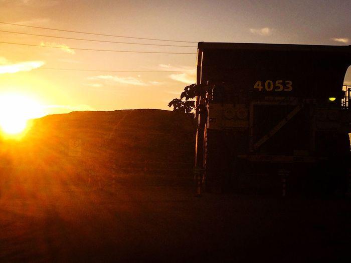 OTR truck. Sunset Carajás