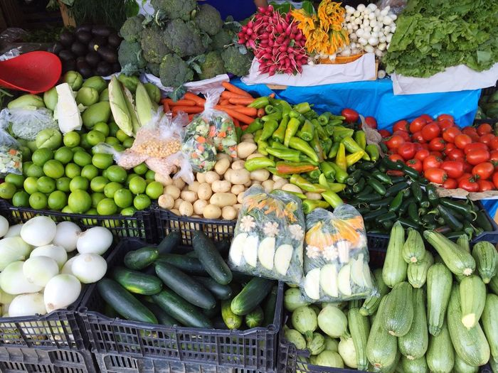 Veggies 🌽🍅🍆🍈🍠 Market Oaxaca Mercado Vegetables Colorful
