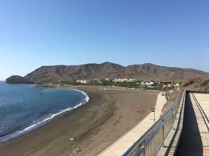 Playa Beach Las Playitas Tuineje Fuerteventura Gran Canaria