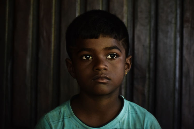 One innocent face of tribe child