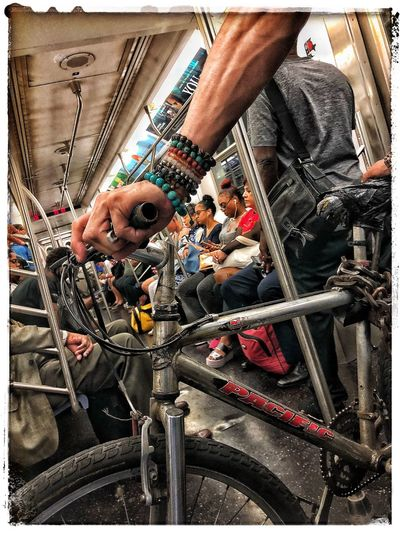 summer in da city Subway Public Transportation MTA Soulz~ Real People