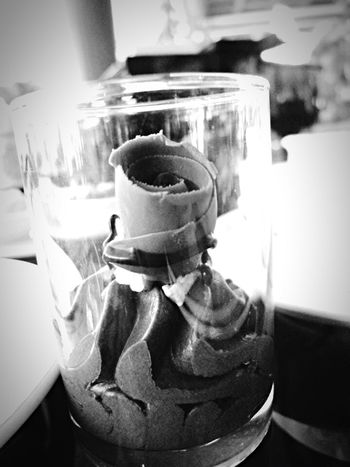 Food Porn Awards Foodphotography Roses Chocolate Mousse Blackandwhite Artfood