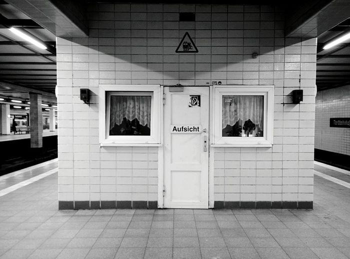 Day 192 - On the platform Berlin Blackandwhite Public Transportation Streetphotography Streetphoto_bw Sbahn 365project 365florianmski Day192