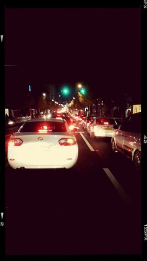 Traffic Jam Saturdaynight life like a jam