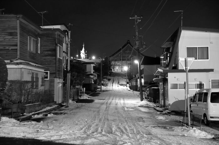City City Street Cityscape Night Lights Night Photography Nightphotography Road Black And White Blackandwhite Blackandwhite Photography City Lights Cityscapes Cold Temperature House Illuminated Night No People Outdoors Residential Building Snow Street Street Photography Streetphoto_bw Streetphotography Winter