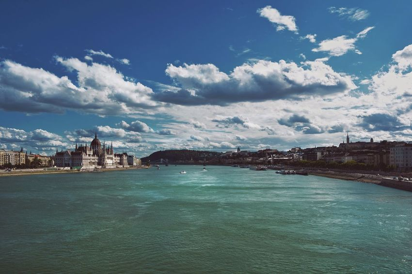 My beauty Budapest! Budapest Hungary Danube Home Hello World City Clouds And Sky Nikon