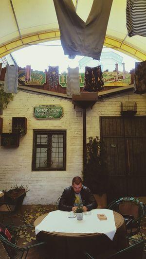 Ucrania Kiev Descanso Movil Ropa Tendida