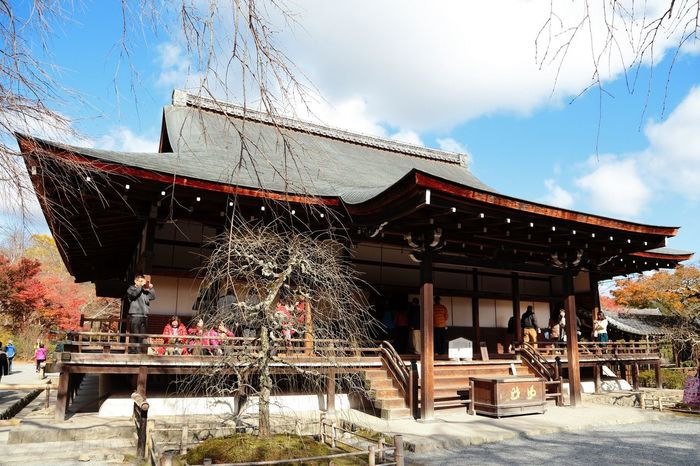Architecture Built Structure House Japanese Culture Japanese Temple Low Angle View Religion Spirituality Wood - Material