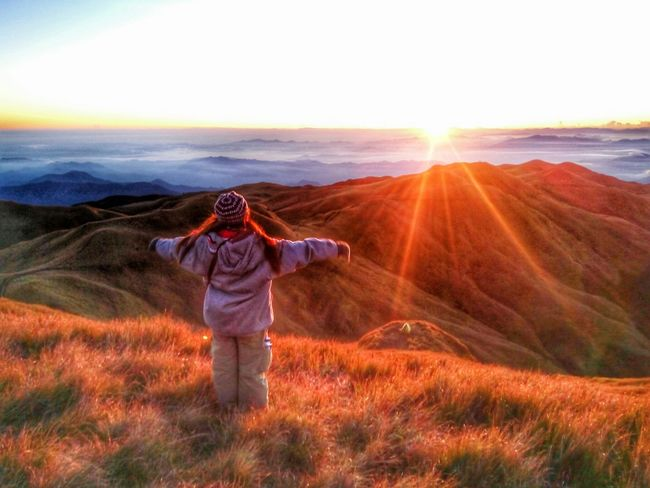 I can touch the sky EyeemPhilippines EyeEm Nature Lover Seaofclouds MtPulag Enjoying Nature Stressfree ThankyouGod