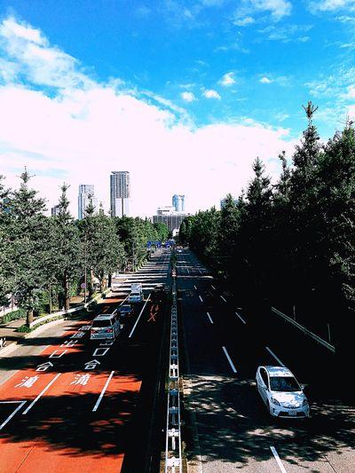 Shinanomachi Tokyo Japan 君の名は Clouds And Sky