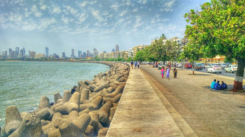 Tourism The Great Outdoor With Adobe Arabian Sea Marine Drive