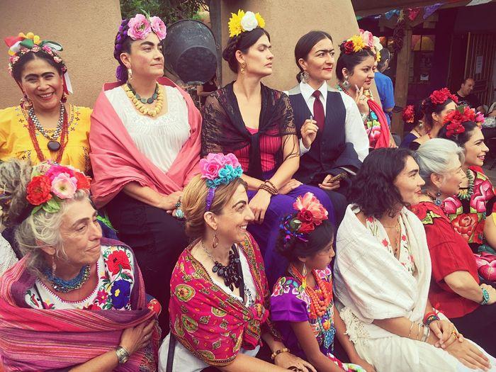 FritaFest Famouspainter Dressup Unibrow Judge Topwinner Albuquerque Tradition Oldtown