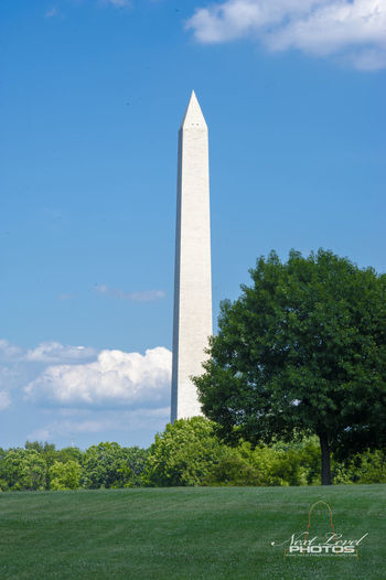 Architecture Blue Built Structure Day Famous Place Green Color History International Landmark Lincoln Monument Memories Monument No People Obelisk Outdoors Sky Tall Tall - High Tourism Tower Travel Destinations Tree Trees Washington Mall Washington Monument Washington, D. C.
