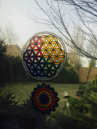Things That Make Me Happy Flower Of Life Mandala Art Inspirational