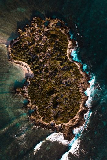 Droneshot Nature Physical Geography No People Water Mountain Island Hawaii Alohastate Oahu Scenics Beauty In Nature Tranquility DJI Mavic Pro Dji Drone  Sunrise Unrealhawaii Islandlife Ocean Landscape Fresh On Market 2017