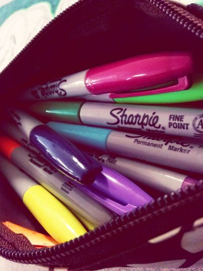 Sharpie Colors My Life
