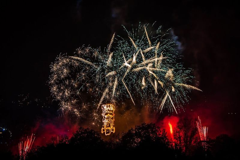 Fireworks Night Firework Illuminated Celebration Firework Display Event Exploding Glowing Motion Low Angle View Arts Culture And Entertainment Sky Smoke - Physical Structure No People Firework - Man Made Object Long Exposure Nature Light Sparks Outdoors