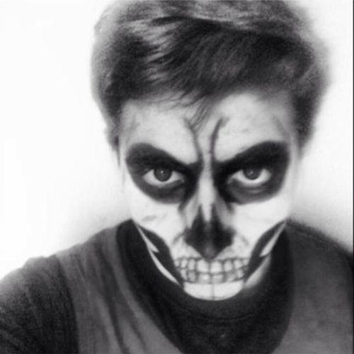 Skull Makeup That's Me Power