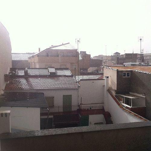 Llueve en La Mancha!! (y truena)