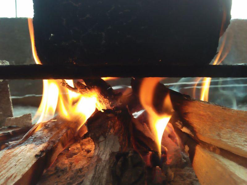 🔥 Burning Flame Heat - Temperature