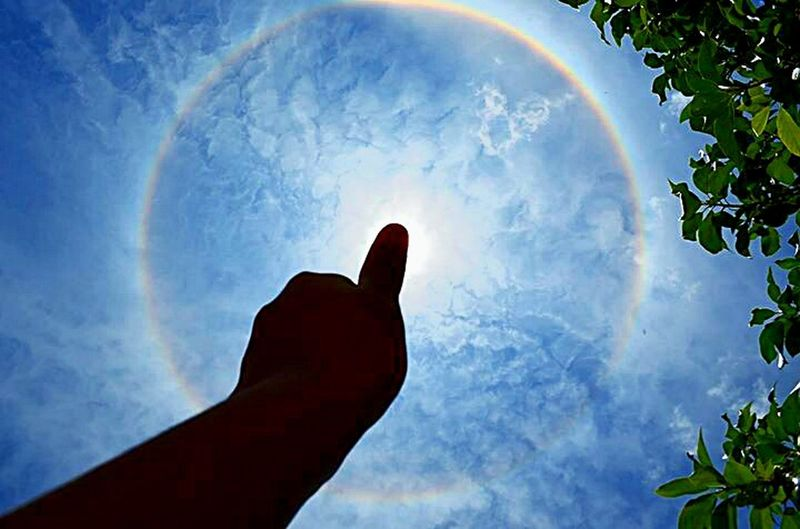 Halo Solar? Halosolar Jujuy Beautiful Taking Photos Rainbow Hello World Like Relaxing Gif Pic