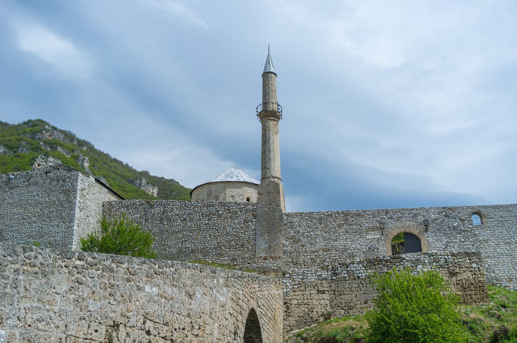 Bosnia And Herzegovina Castle Architecture Building Exterior Built Structure Day House Of Worship Islam Mosque Muslim No People Outdoors Sky