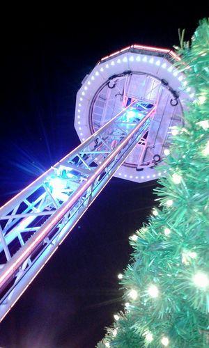 City Skyliner Aussichtsturm Magdeburg Weihnachtsmarkt