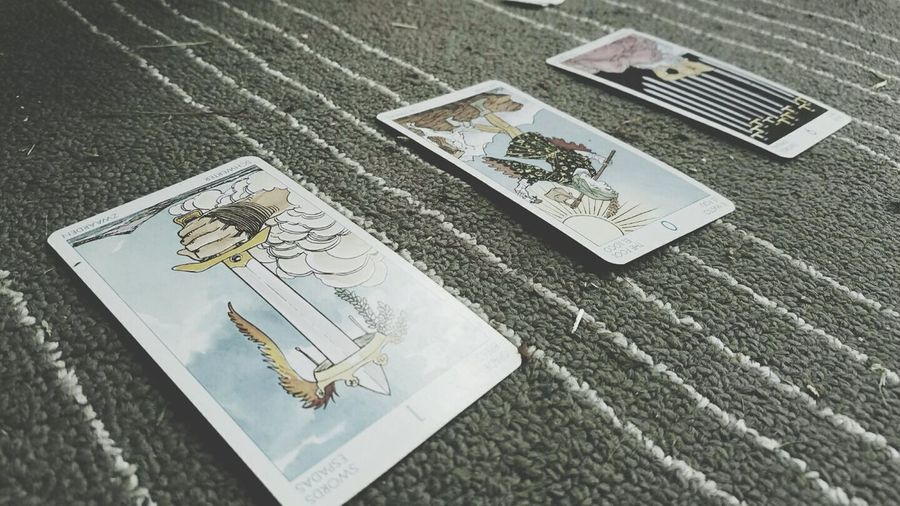 Tarot Tarotcards Ourfuture Reunion! Bestfriends High Angle View No People Close-up Postcard Outdoors First Eyeem Photo