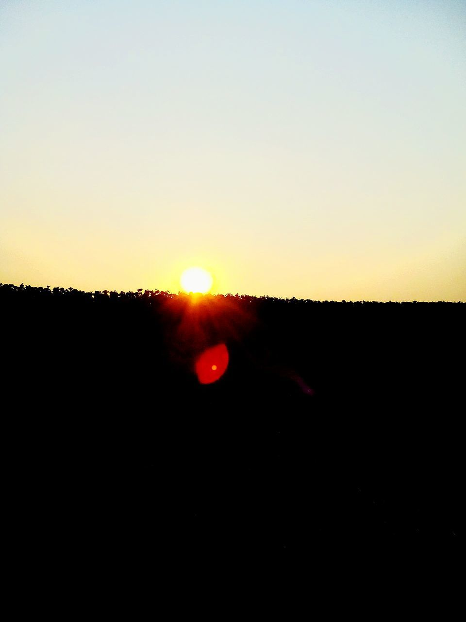 sun, sunset, nature, silhouette, scenics, beauty in nature, tranquil scene, tranquility, landscape, sky, sunlight, clear sky, outdoors, moon, no people, solar eclipse, astronomy, day