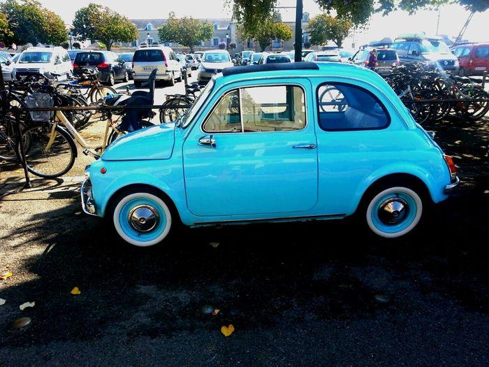 Fiat500 Fiat 500 Fiat Voiture Retro Car Cinquecento Old Car Machina Carporn Automobile