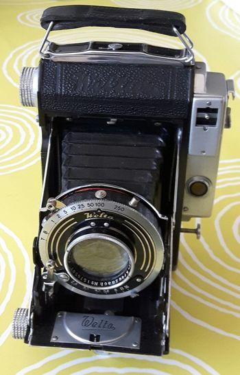 Camera Vintage Welta no No People Retro Styled Camera - Photographic Equipment