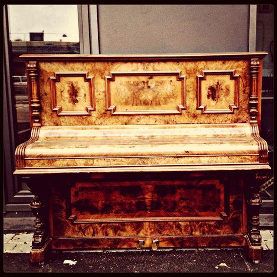 Piano Taking Photos Antique