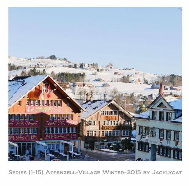 1/15 Appenzell Village JacklyCat Best Of Series Of Jacklycat Appenzell By Jacklycat