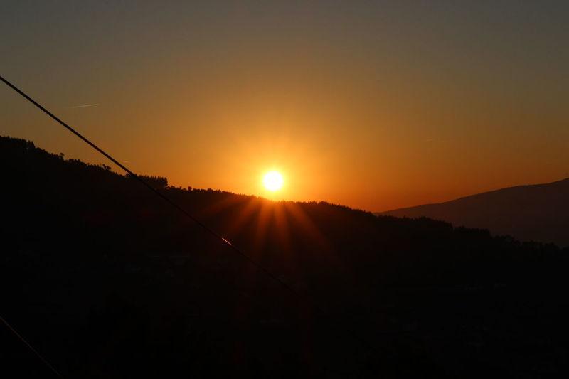 Sun 🌄 Sun Sunlight No People Beauty In Nature Scenics Nature Mountain Sky Day