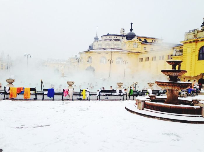Spa Széchenyi Baths Snow Relaxing 2016 Your Ticket To Europe Breathing Space