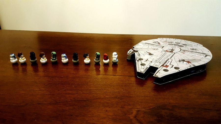 Q Queue Model SpaceShip Rollinz Star Wars