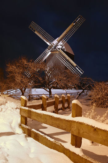Alternative Energy Beauty In Nature Cold Temperature Day Environmental Conservation Field Frozen Fuel And Power Generation Industrial Windmill Nature No People Outdoors Renewable Energy Rural Scene Sky Snow Traditional Windmill Weather Wind Power Wind Turbine Windmill Winter