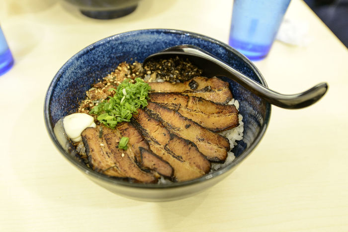 Char Siew Charsiew Close-up Day Food Food And Drink Freshness Healthy Eating High Angle View Indoors  Japanese Food No People Plate Ready-to-eat Rice Serving Size Table