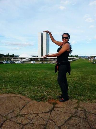 Tarde de sábado em Brasilia♡ Saudades Lugar Lindo Congressonacional
