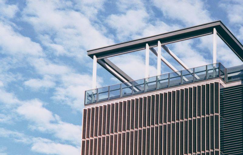 EyeEm Selects Modern City Sky Architecture Building Exterior Cloud - Sky Built Structure Analog Brushed Metal Aluminum