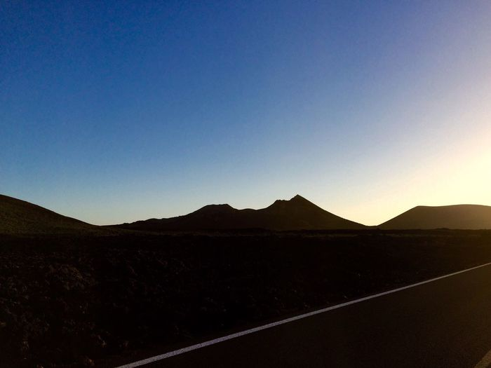 Mountain Landscape Outdoors Clear Sky Vulcano Vulcanic Landscape Lanzarote Island Lanzarote Yaiza Lieght