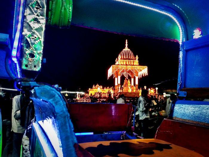 Mysore Palace Night Dasara NightvibesWinter Nightlight Show Smartphonephotography Photo♡ First Eyeem Photo