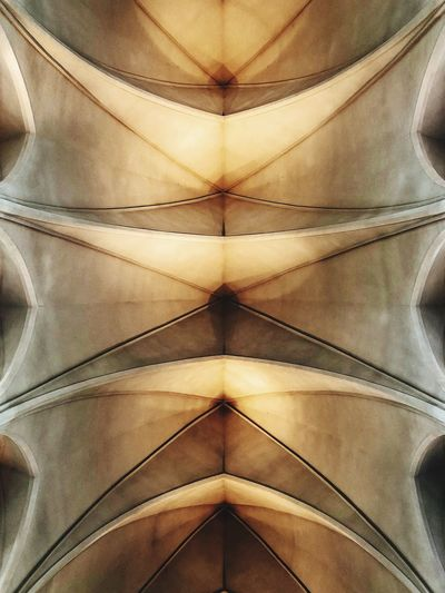 The ceiling of