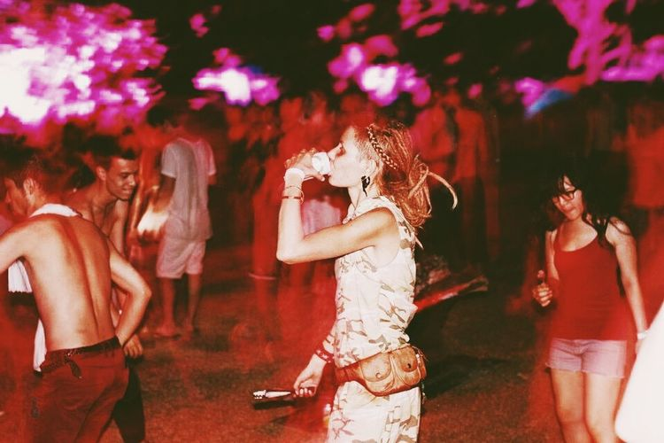 Techno Organic Party Hippie Beer Music Party Hualian The Fan Club