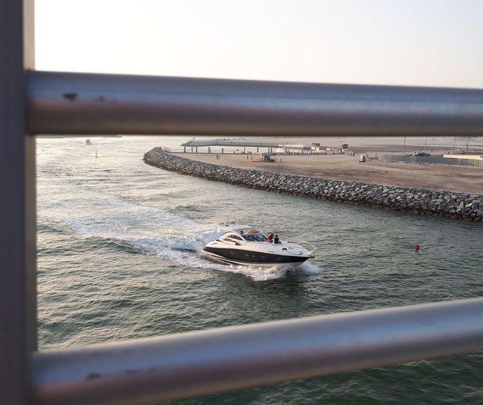 Water Canal Dubai Yacht Speed