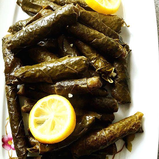 Türkisches essen Weinblätter Turkish Food Turkishfollowers Turkish Food Foodphotography Foodstagram